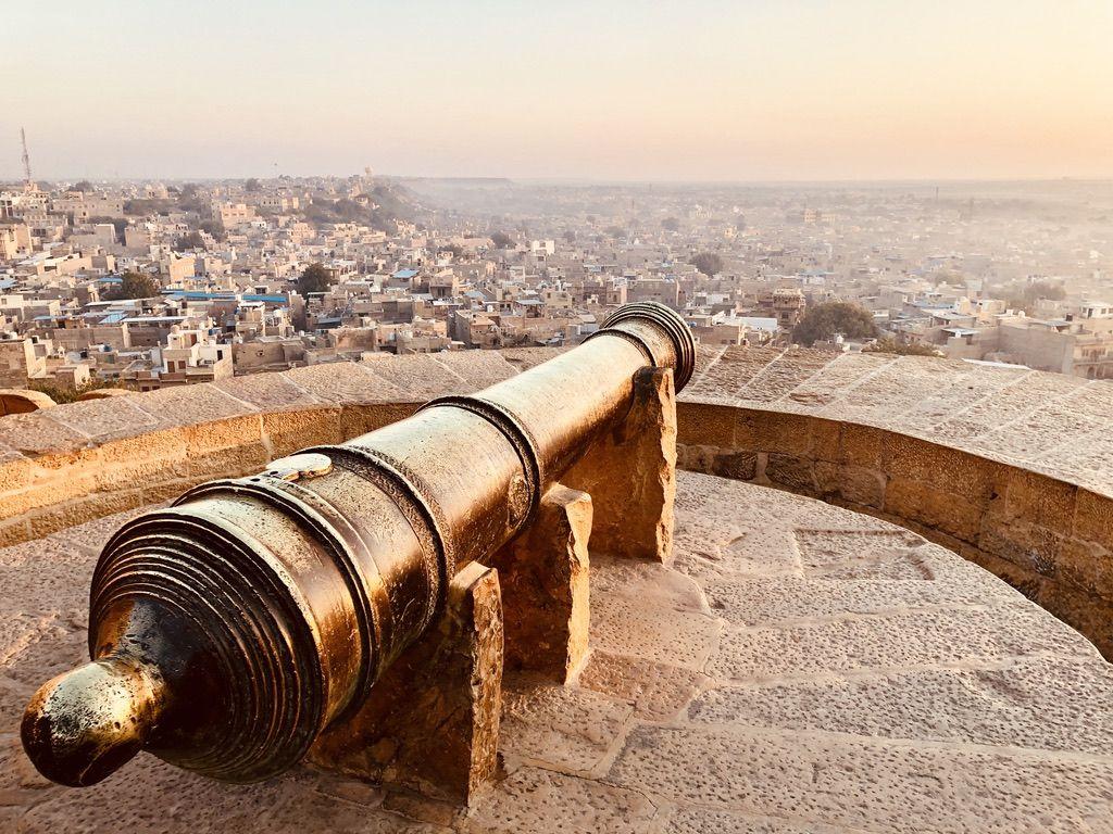 Canon in Jaisalmer Fort