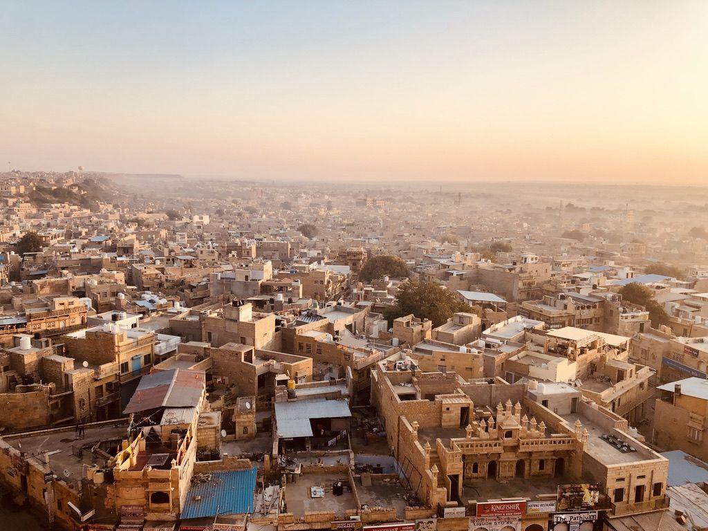 Jaisalmer City from Jaisalmer Fort
